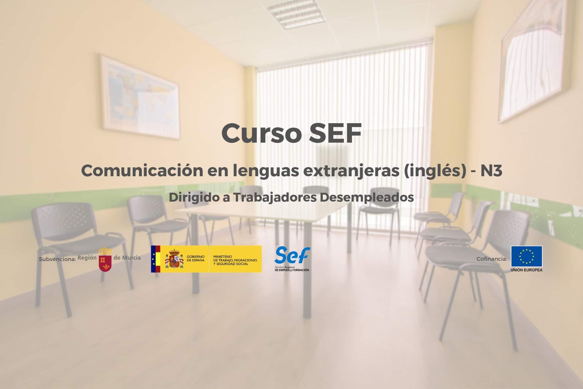 Inscripción Cursos SEF